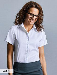 Overhemden en Blouses (Twill)