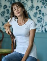 Womens Fashion Stretch Tee Extra Lenght